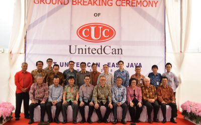 "Ground Breaking Ceremony ""UCC Phase II Mojokerto Project"" of PT. United Can"