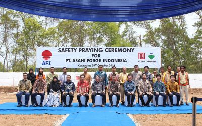 Safety Praying Ceremony for PT. ASAHI FORGE INDONESIA