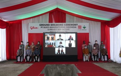 Ground Breaking Ceremony for PT. GLICO MANUFACTURING INDONESIA