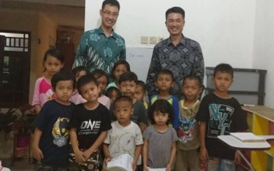 CSR Programe Donation for Kampung Kids
