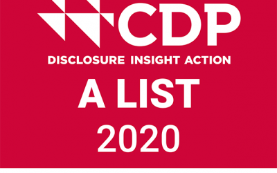 Obayashi Selected for CDP Climate Change Report A List for First Time
